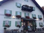 Gasthof Zur Rose in Oberramergau, Germany