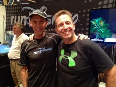 "Saying ""hi"" to running guru Jeff Galloway."
