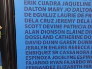 All in all, just another name on the wall.