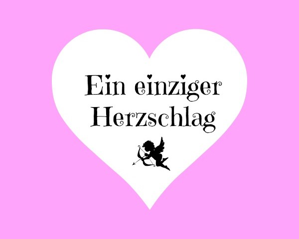 Ein einziger Herzschlag Logo