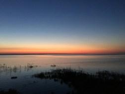 Dawn on Lake Huron
