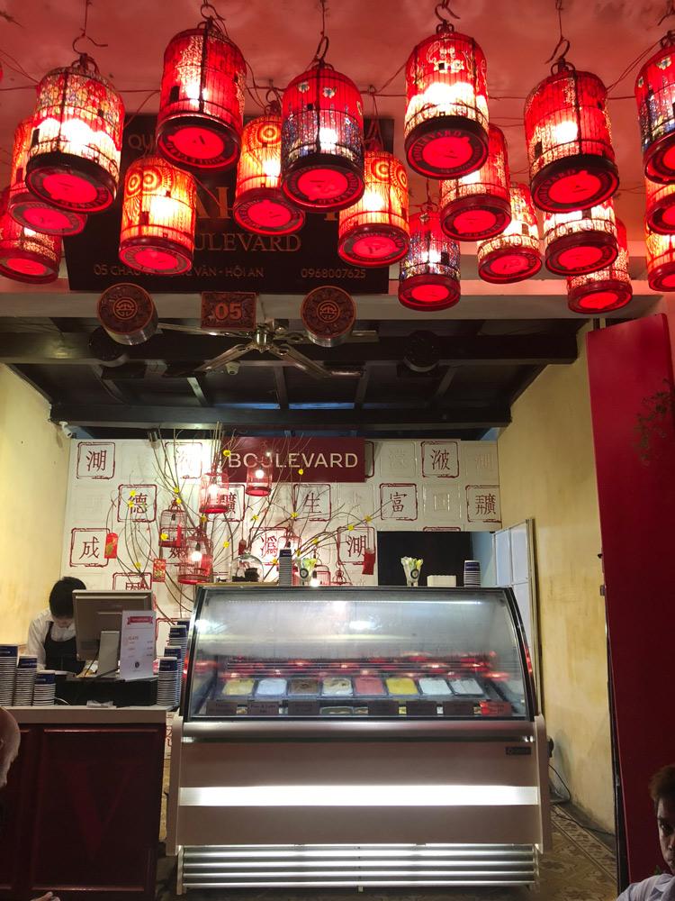 Boulevard Gelato Shop, Hoi An