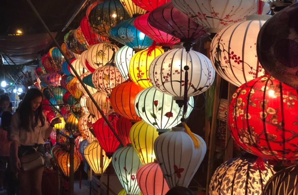 Paper lanterns in Hoi An