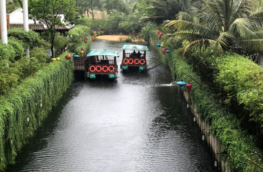The Angsana's canal ride