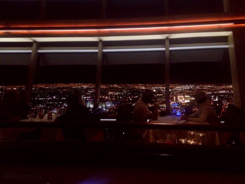 restaurante stratosphere top of the world