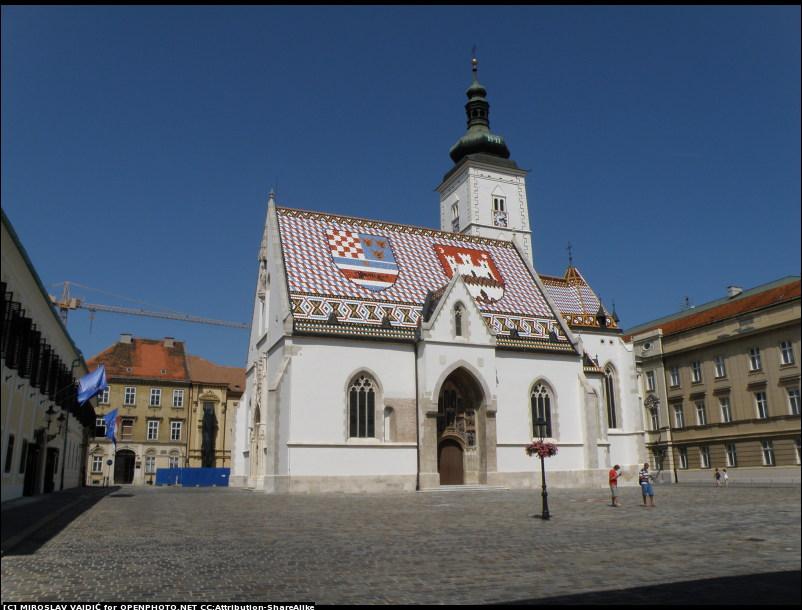 Igreja St Marks em Zagreb © Miroslav Vajdić