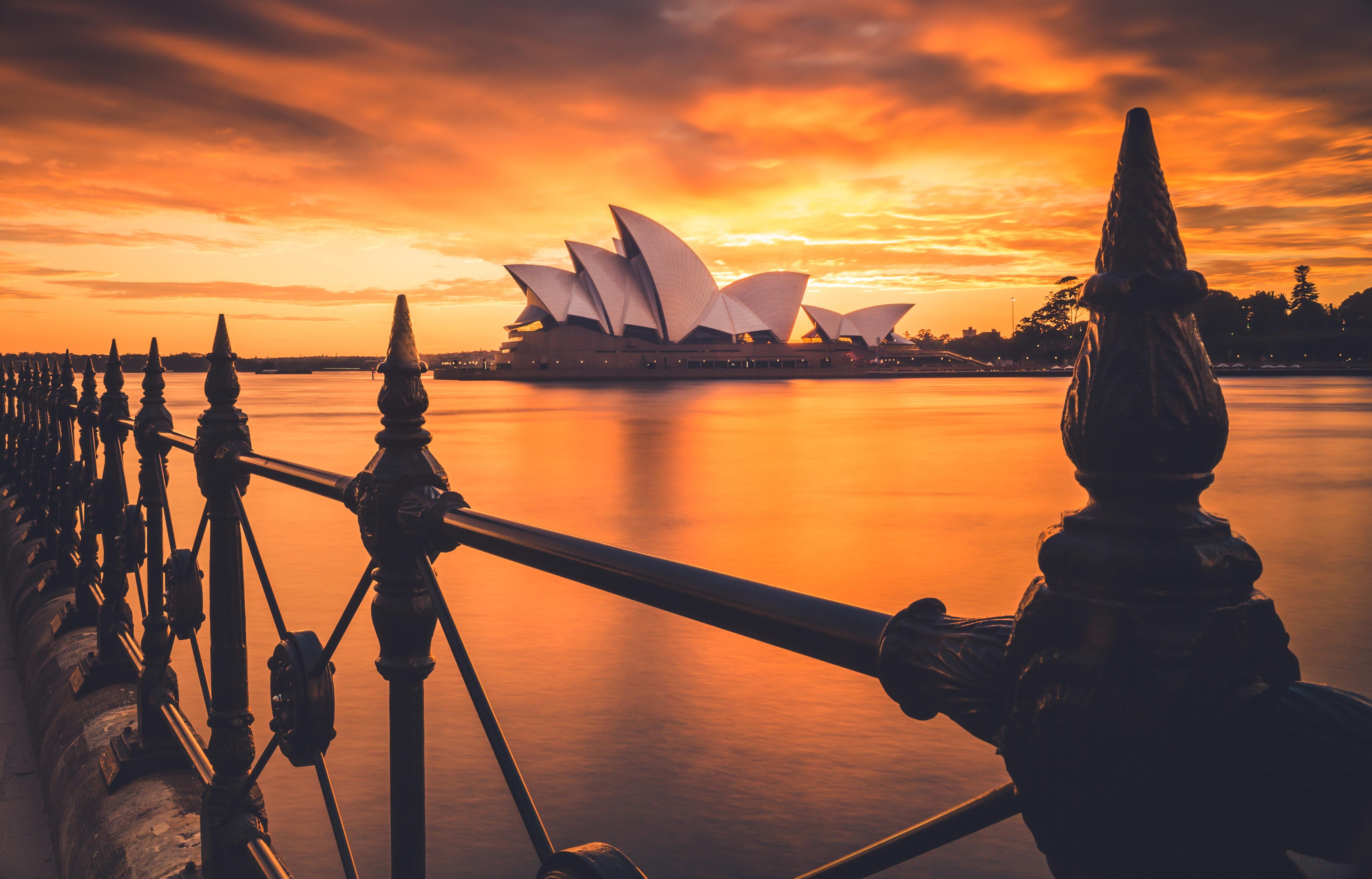 Liam Pozz Sydney Opera House sunset