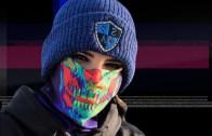 Galactic Skull Trippy Mask / Bandana