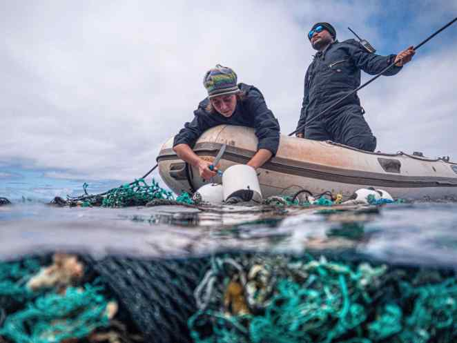 Ocean Cleanup of  Great Pacific Garbage Patch