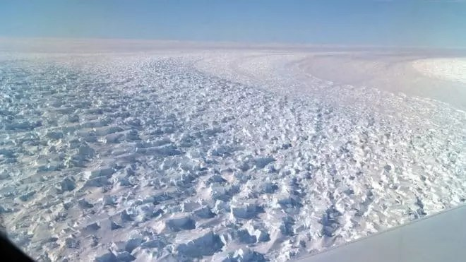 Deepest Point on Earth- Denman Glacier in East Antarctica