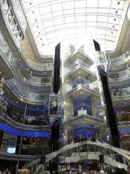 carnival fantasy cruise ship interiors atrium grand interior ships lobby garrison linda