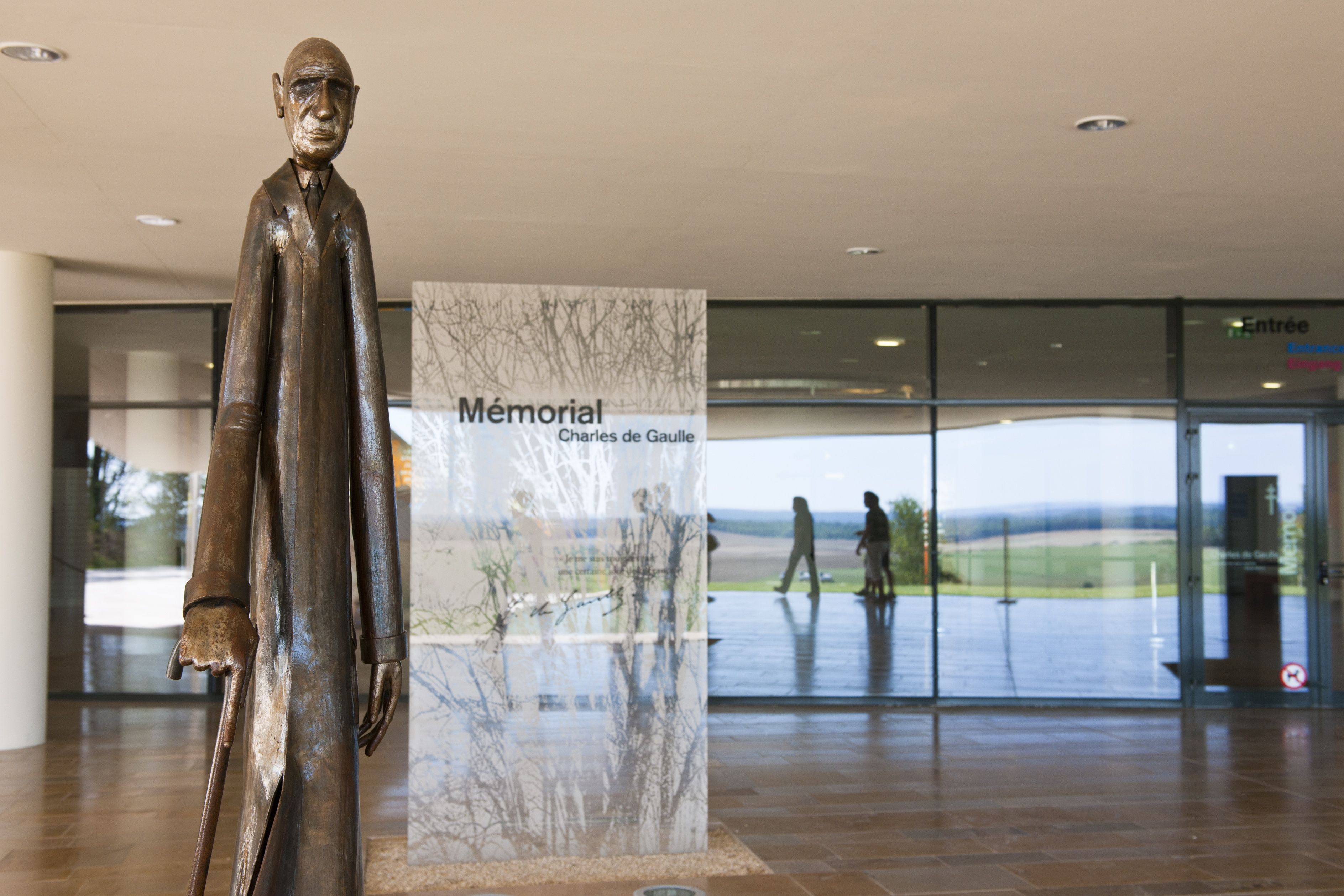 The Charles De Gaulle Memorial Museum In Champagne