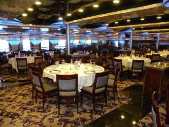 fantasy carnival dining cruise ship interiors garrison linda max