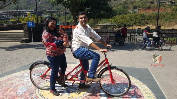 Cycling in Lavasa