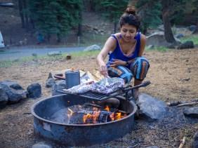 camping in Mount Lassen California