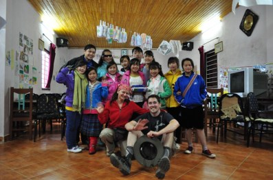 Vising the Sapa O'Chau school
