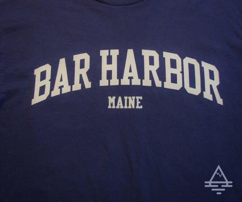 Bar Harbor, Maine Tee