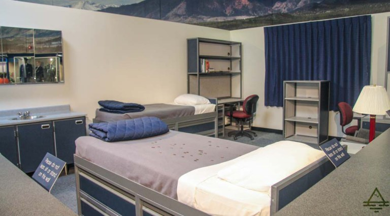 Air Force Academy dorm room
