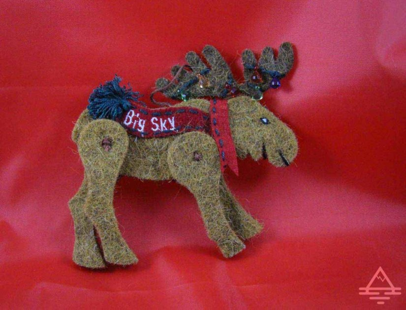 Moose Christmas oranment