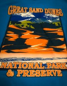 Great Sand Dunes National Park Tee Shirt