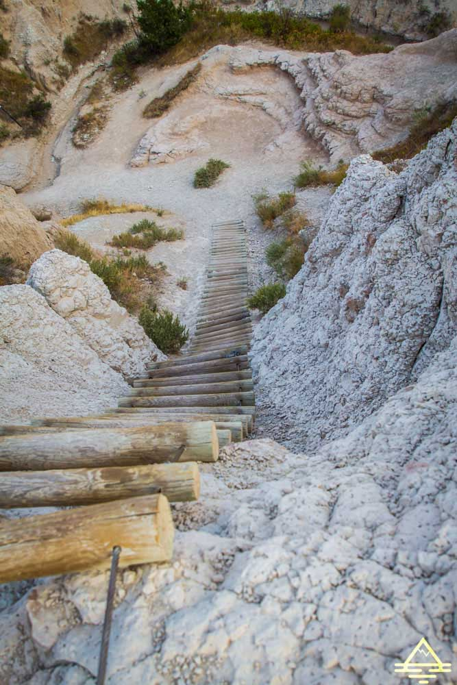 Badlands National Park Notch Trail