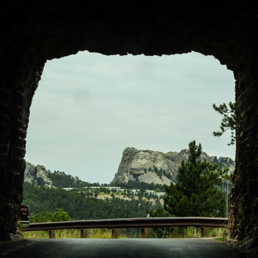 Mount Rushmore Doane Mountain Tunnel