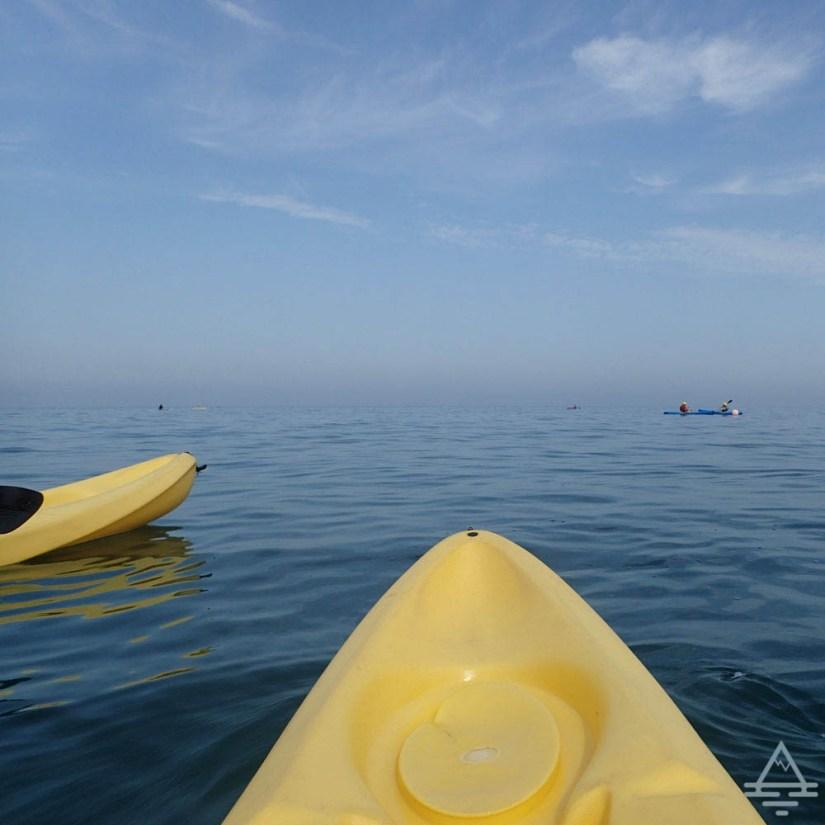 Sea Kayaking in La Jolla