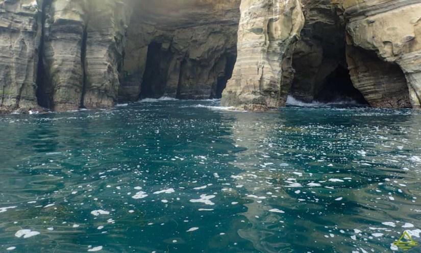 Sea Caves in La Jolla