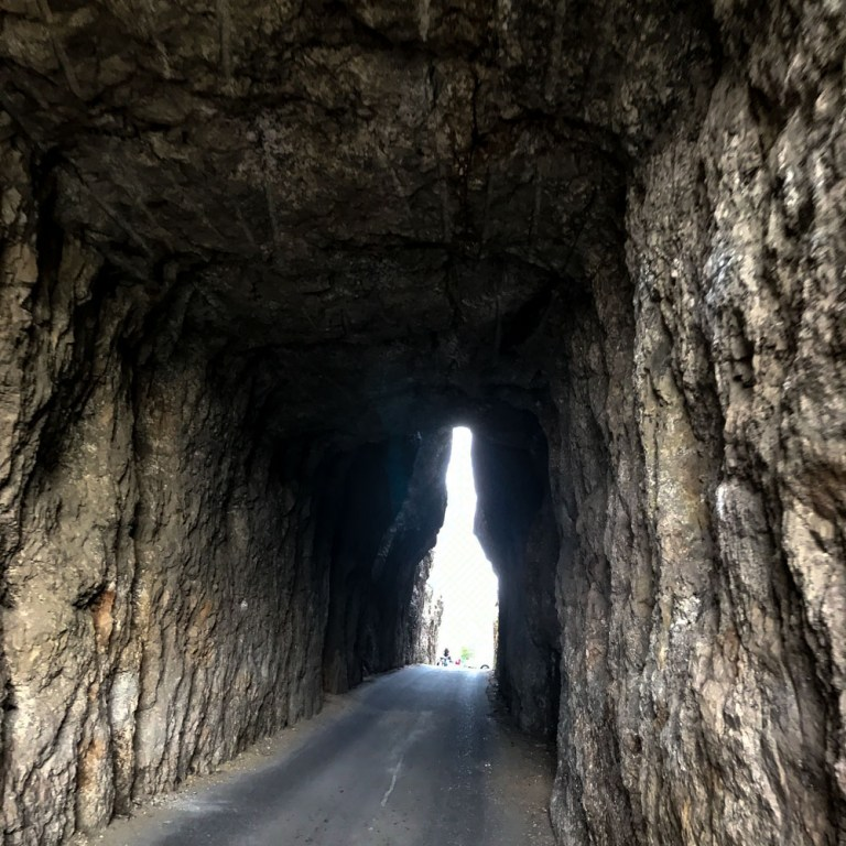 Needles Eye Tunnel in Custer State Park