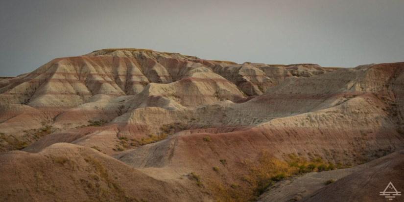 Badlands National Park formations