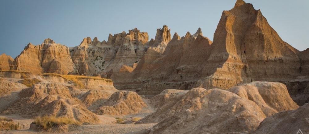 Badlands Park Geologic Formations