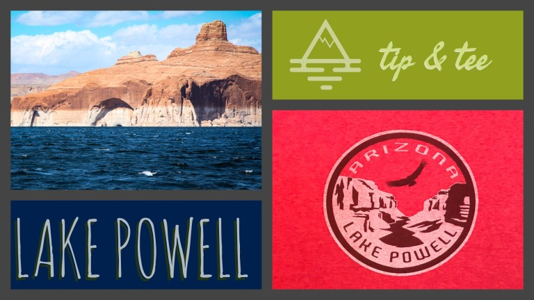 Lake Powell Tip & Tee