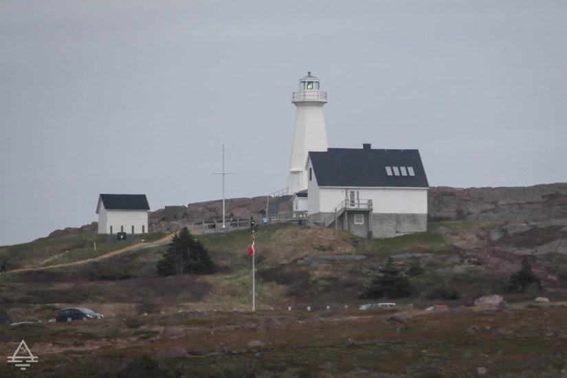 Lighthouse at Cape Spear near St Johns, Newfoundland