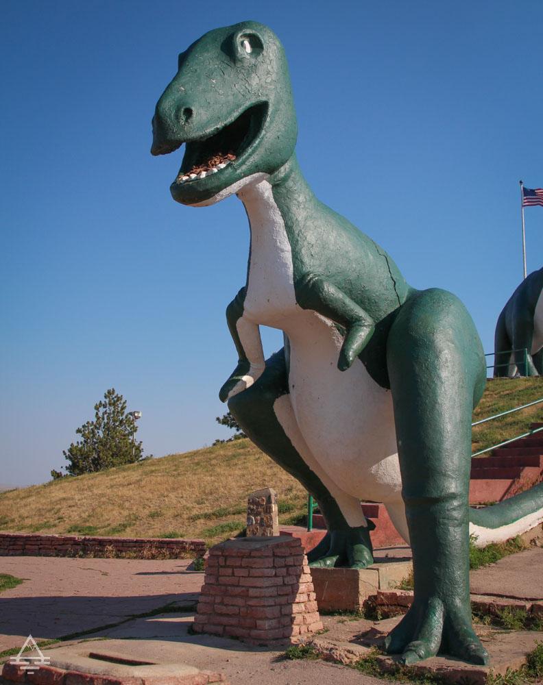 Dinosaur Statue in the Rapid City Dinosaur Park