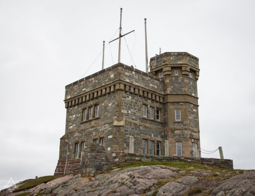 Castle style tower on top of Signal Hill in St John's, Newfoundland