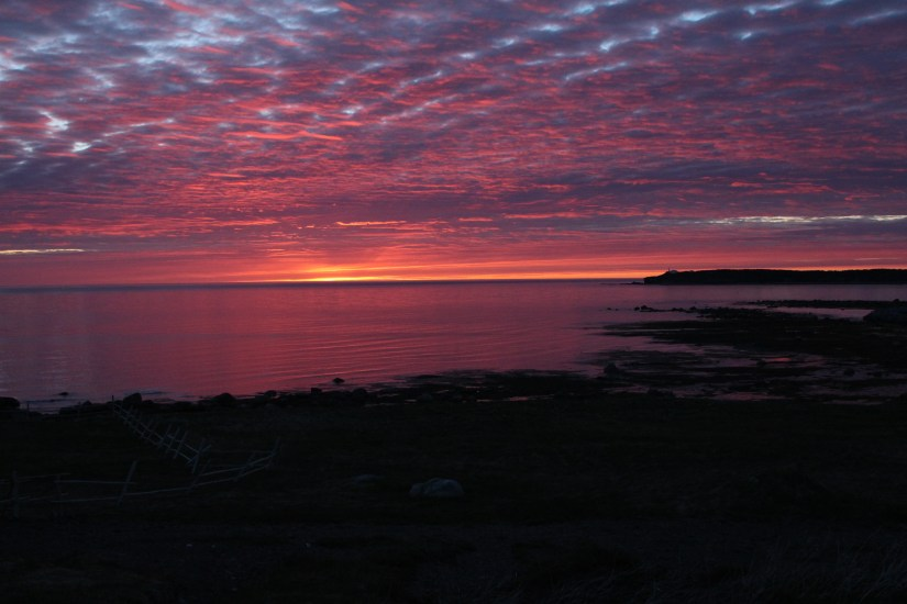 Sunset from Rocky Harbour