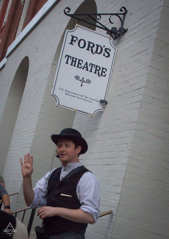 Washington DC-Inspector McDevitt Actor by Ford's Theater