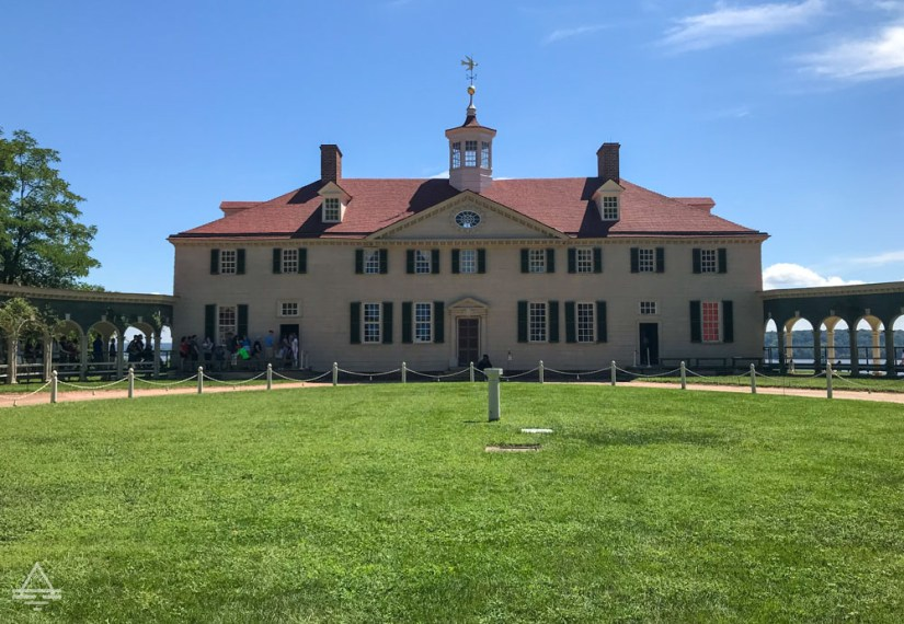 Washington DC- View of Mount Vernon Main House