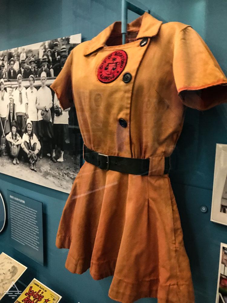 Girl's Baseball Uniform