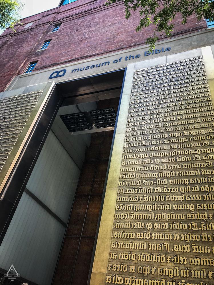 Museum of the Bible Front Door