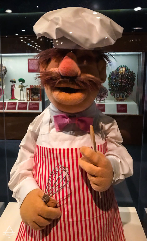 The Swedish Chef Puppet from the Muppet Show which Debuted 1975