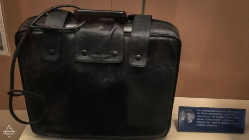 "The Briefcase Known as the ""Football"" Carried during the Clinton Administration"
