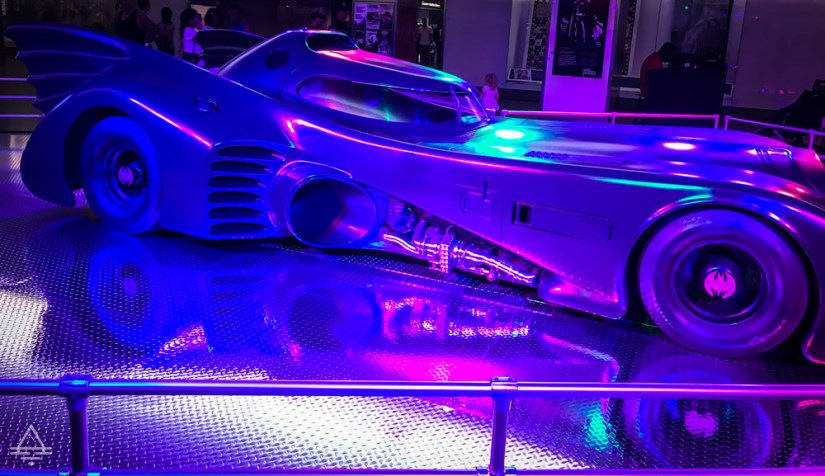 The Bat Mobile at the National Museum of American History