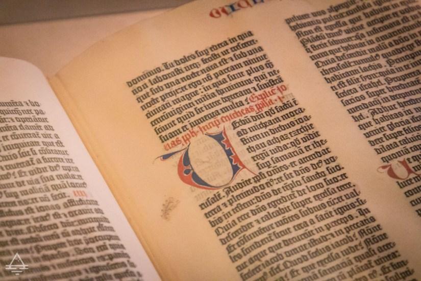 Gutenberg Bible Page