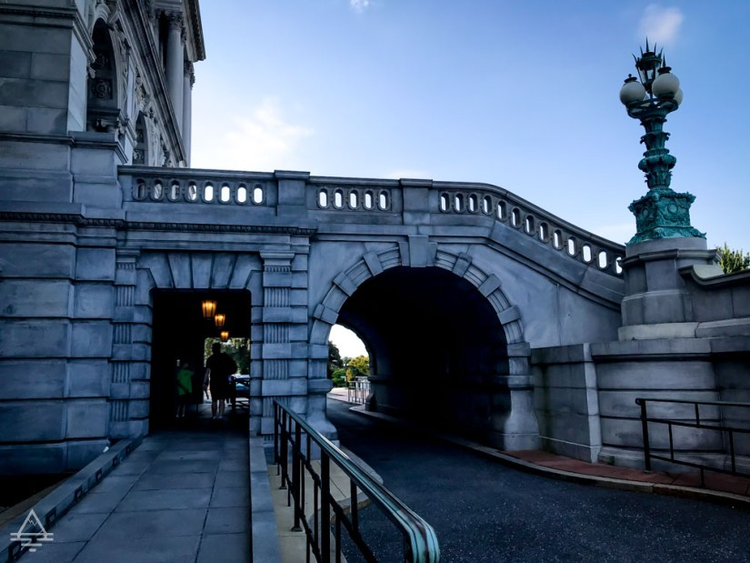 Lower Entry to the Library of Congress