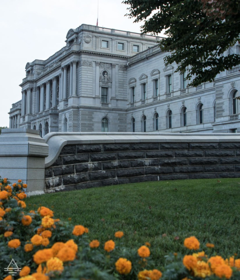 Front of the Thomas Jefferson Building of the Library of Congress