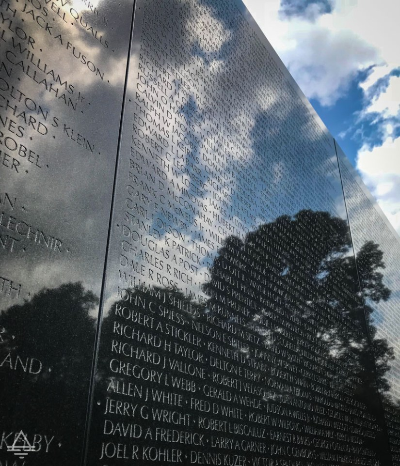 Washington Monuments Tour Vietnam Memorial