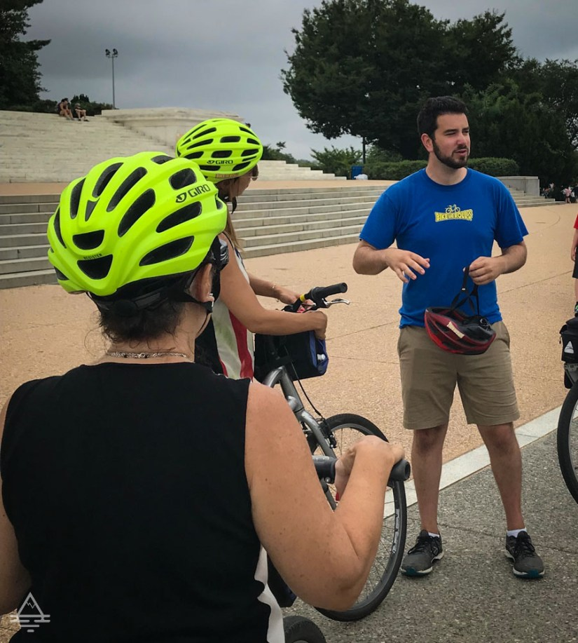 Bicycle Guide for Washington Monuments Tour
