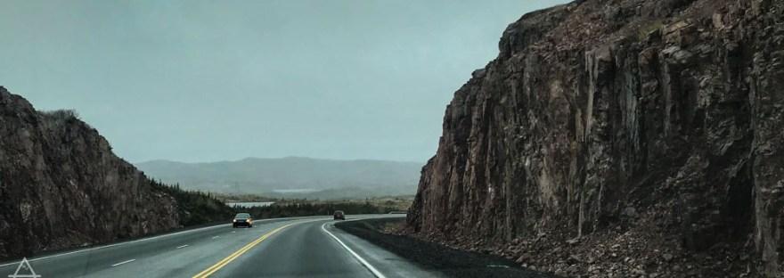 Highway in Newfoundland