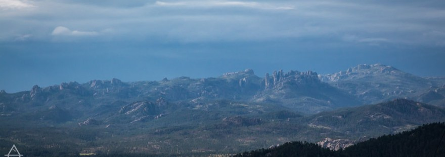 View of the Black Hills